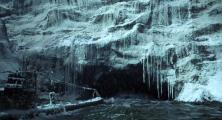 frozen wasteland, lets go thru that tunnel...