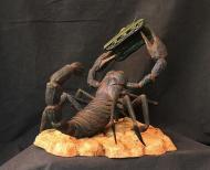 Black Scorpion back view