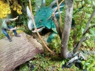 David Dockerty King Kong diorama Styracosaurus