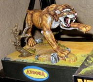 Dwayne Whitehead build and paint sabertooth
