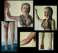 The victim zombie - James Nichols