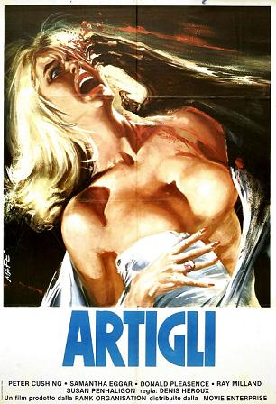 the foreign posters really capture the essence of the films....NOT!
