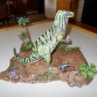 Iguanodon by Mike K - giving the Fonzy thumbs up