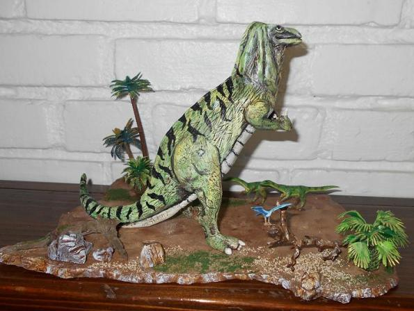 Iguanodon sculpt by Mike K pic 2