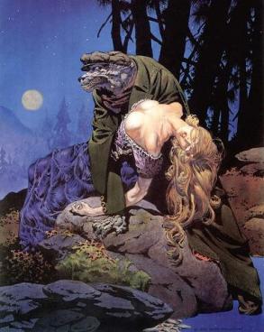 Wrightson - wolfman illustration