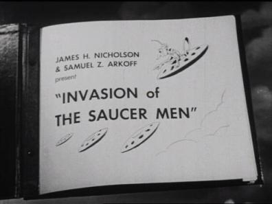 Invasion of the saucer men - credits