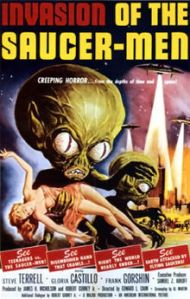 Invasion of the saucer men poster 2