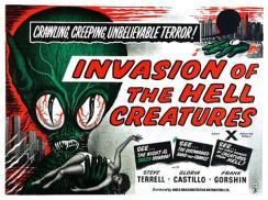 Invasion of the saucer men poster - alt title