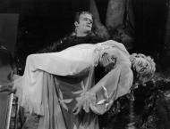 Lugosi in Frankenstein meets the wolfman