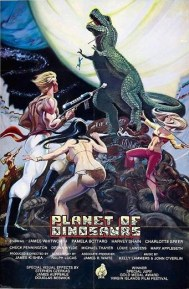 planet of dinosaurs poster
