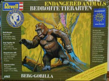 Revell Endangered Animals - Gorilla