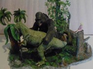 Kong vs Tyrannosaurus 1