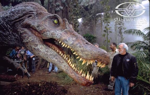 jurassic park III spinosaurus | parlor of horror