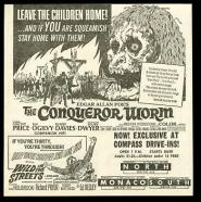 The Conquerer worm newspaper ad