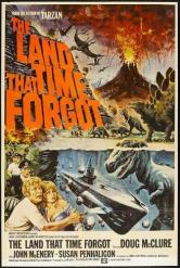 the land that time forgot - poster