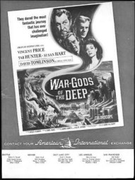 War Gods of the Deep trade publication ad