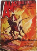 Amazing Stories - robots 1938