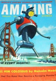 Amazing Stories - robots 1956