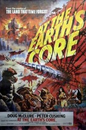 at the earths core - poster