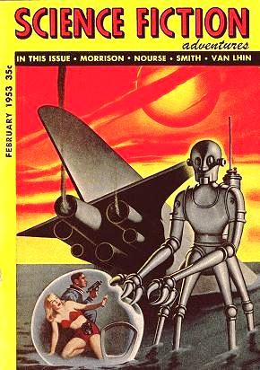 sf adventures - robot