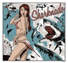 Sharknado vintage ad