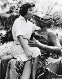 alligator people behind the scenes