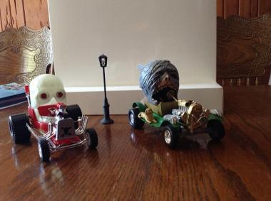 Creepy T monster car by Mike K pic 6