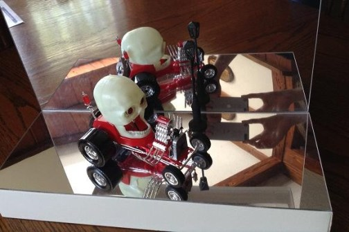 Creepy T monster car by Mike K pic 9