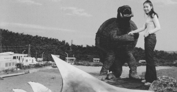 Gamera makes a friend