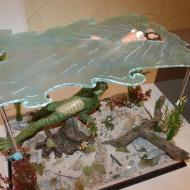 What Lurks beneath - Creature diorama