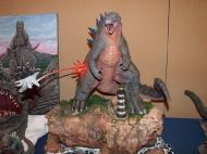 Jon Legrande Godzilla 2014 diorama
