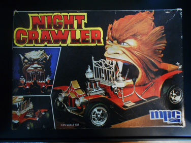 Night Crawler MPC Werewolf Car kit 002