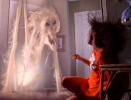 scary creature from Poltergeist
