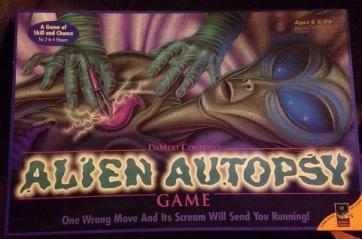 alien autopsy game