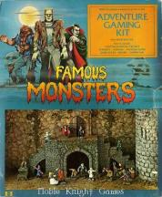 famous monsters game