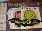Monster card game - old maid
