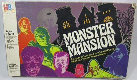 monster mansion game