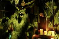 spook house scene