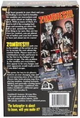 Zombies game back cover