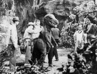 One Million BC 1940- behind the scenes pic 1