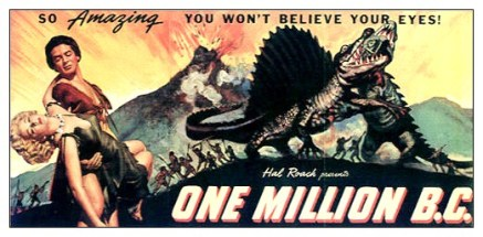 One Million BC 1940- poster 2