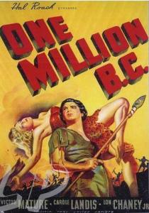 One Million BC 1940- poster 3
