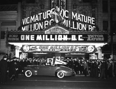 One Million BC 1940- theatrical release 2