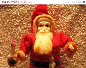 scary santa doll