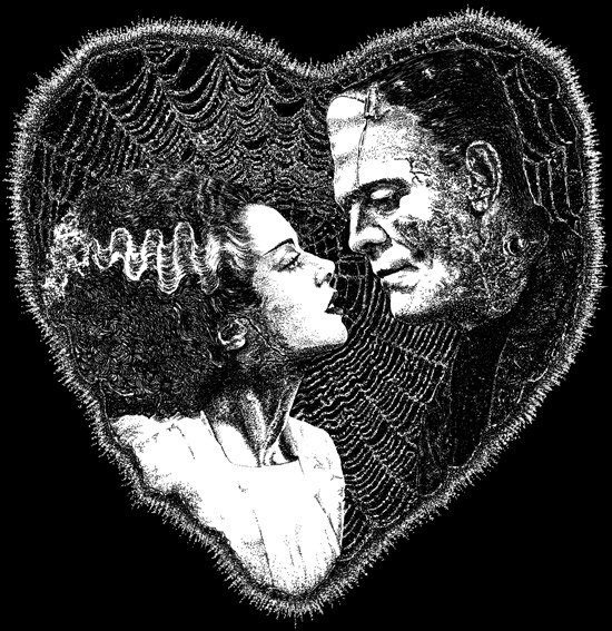 bride-of-frankenstein-frankenstein-creature-love-Favim_com-657350
