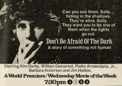 dont be afraid of the dark - TV Guide ad