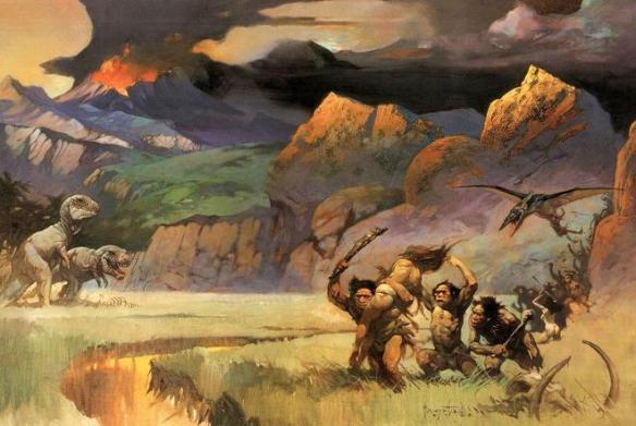 frank frazetta - pic 1 - cavemen