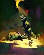 frank frazetta - pic 2 - rex and trike