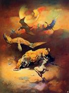 frank frazetta - pic 3 - flying reptiles