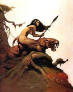 frank frazetta - pic 5 - huntress